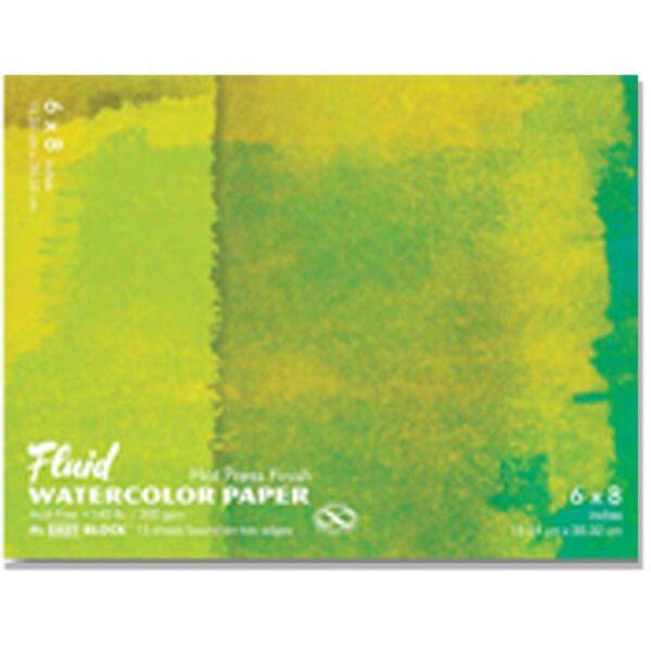 Fluid Watercolor EZ Block Hot Press 9x12