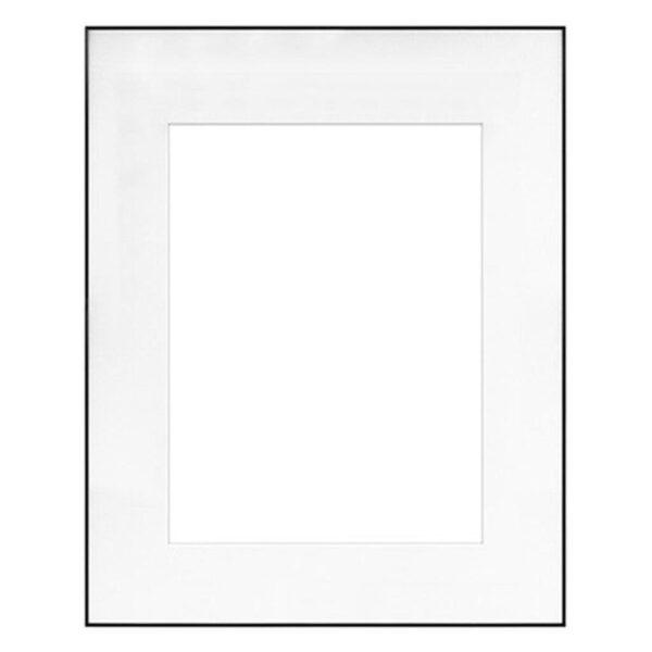 Framatic Fineline Black Frame 16x20-11x14