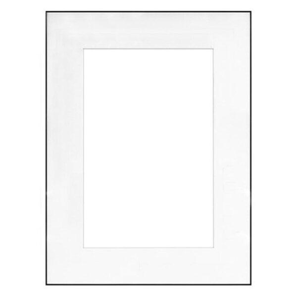 Framatic Fineline Black Frame 18x24-12x18