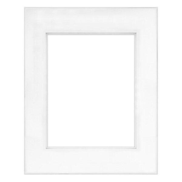 MCS Framatic Fineline Aluminum Frames - White 16in x 20in Artwork Size