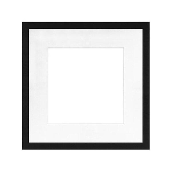 Framatic Modern Black Frame 16x16-11x11