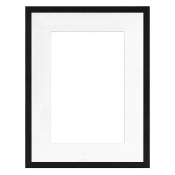 Framatic Modern Black Frame 18x24-12x18