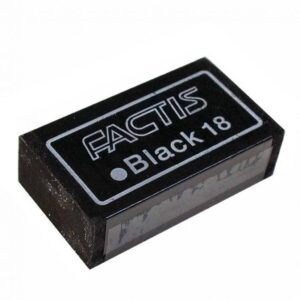 Generals Factis GBS-18 Black Eraser