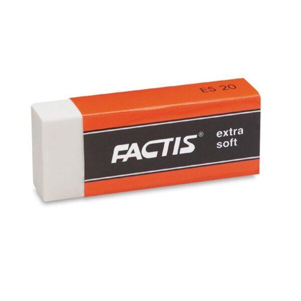 Generals Factis Viny Eraser White