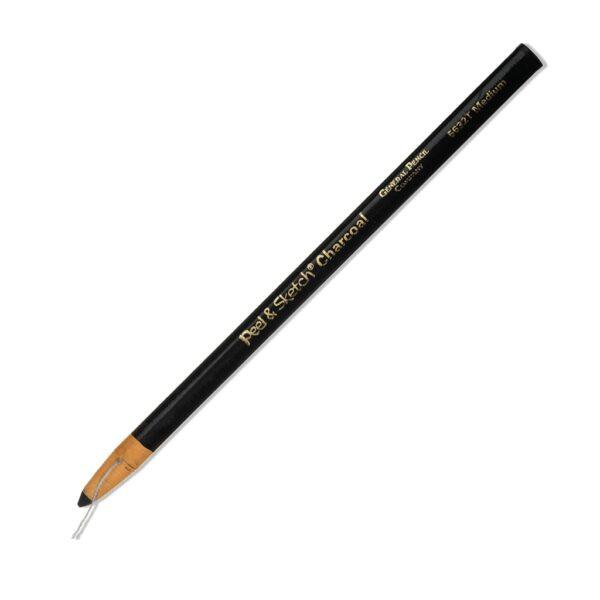 Generals Charcoal Peel and Sketch Pencil Medium