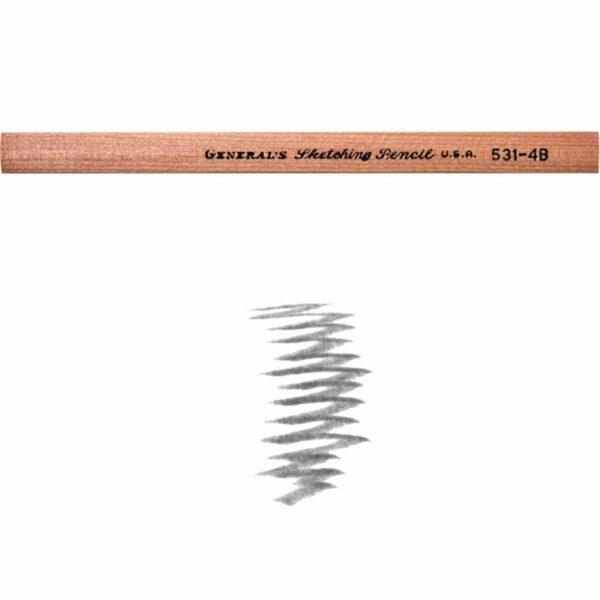 Generals Sketching Pencils 4B