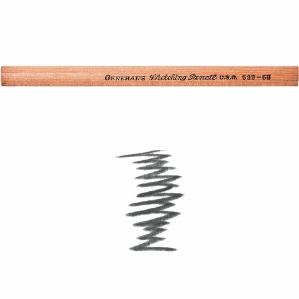 Generals Sketching Pencils 6B