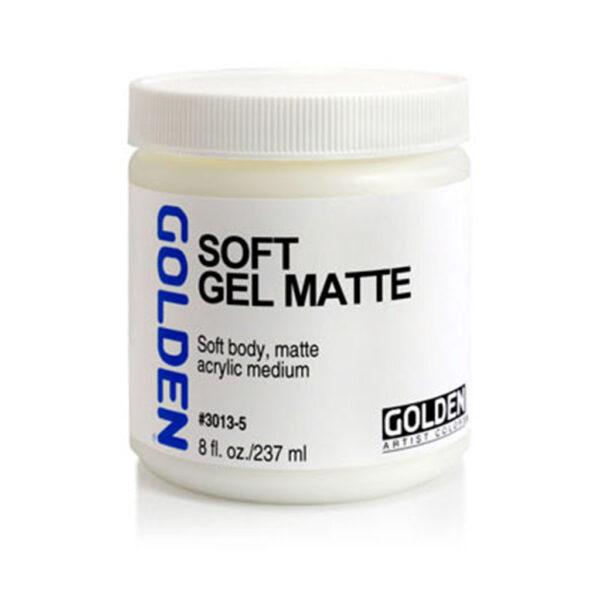 Golden Soft Gel (Matte) - 237 ml (8 OZ)