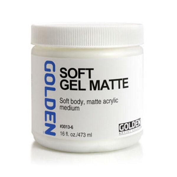 Golden Soft Gel (Matte) - 473 ml (16 OZ)