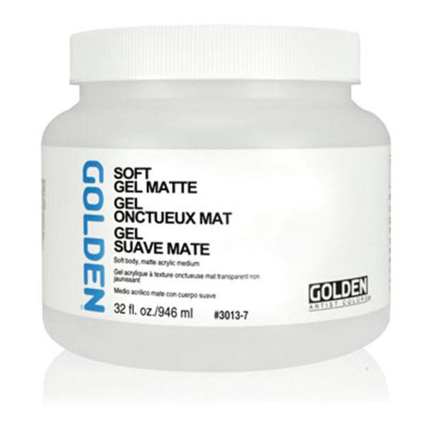 Golden Soft Gel (Matte) - 946 ml (32 OZ)