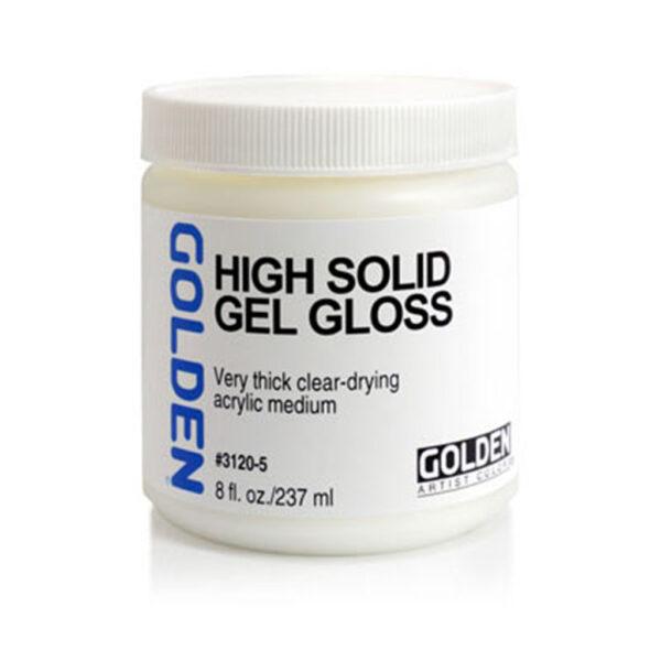Golden High Solid Gel (Gloss) - 237 ml (8 OZ)