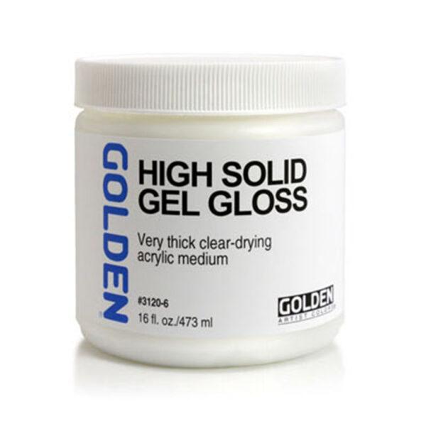 Golden High Solid Gel (Gloss) - 473 ml (16 OZ)