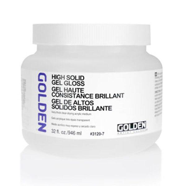 Golden High Solid Gel (Gloss) - 946 ml (32 OZ)