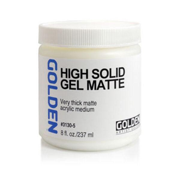 Golden High Solid Gel (Matte) - 237 ml (8 OZ)