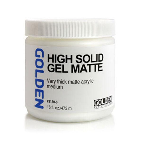 Golden High Solid Gel (Matte) - 473 ml (16 OZ)