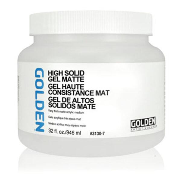 Golden High Solid Gel (Matte) - 946 ml (32 OZ)