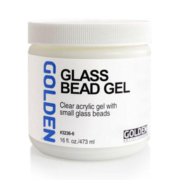 Golden Glass Bead Gel - 473 ml (16 OZ)