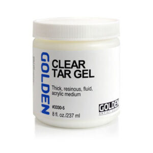 Golden Clear Tar Gel - 237 ml (8 OZ)