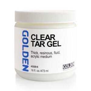 Golden Clear Tar Gel - 473 ml (16 OZ)