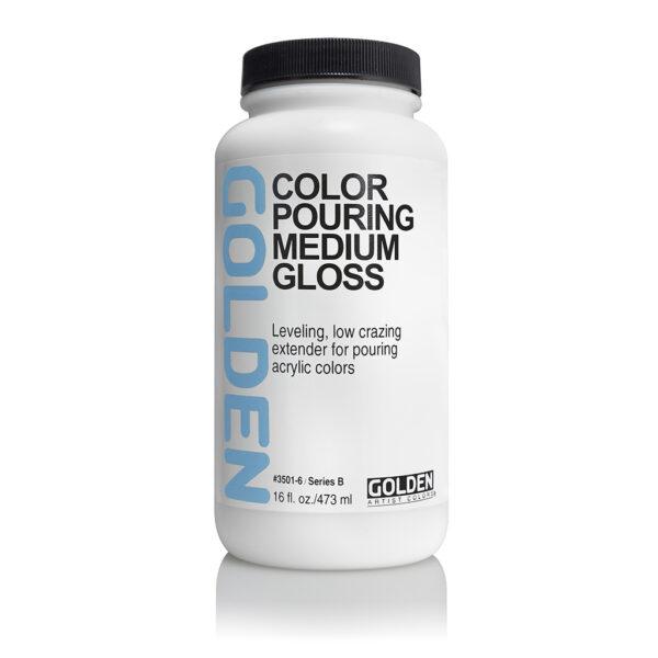Golden Pouring Medium Gloss - 473 ml (16 OZ)