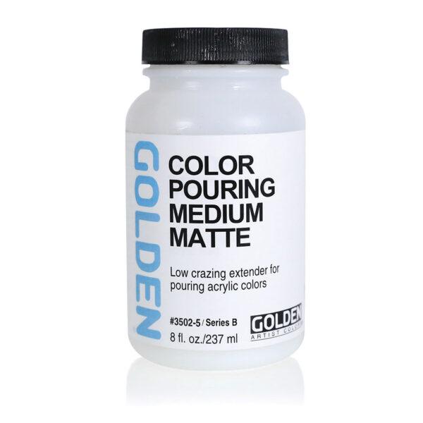 Golden Pouring Medium Matte - 237 ml (8 OZ)