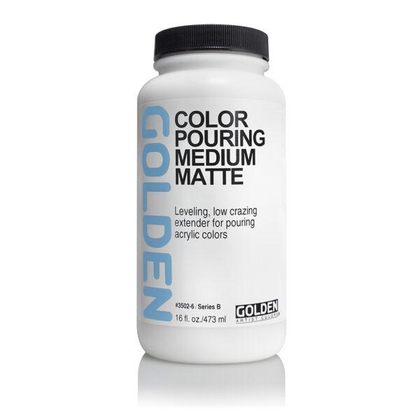 Golden Pouring Medium Matte - 473 ml (16 OZ)