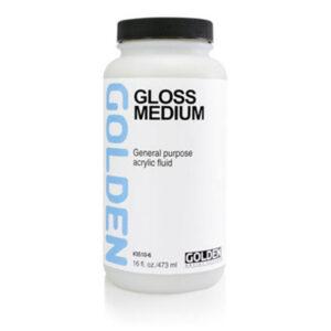 Golden Gloss Medium - 473 ml (16 OZ)