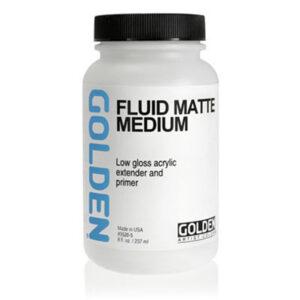 Golden Fluid Matte Medium - 237 ml (8 OZ)