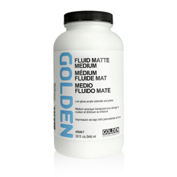 Golden Fluid Matte Medium - 946 ml (32 OZ)