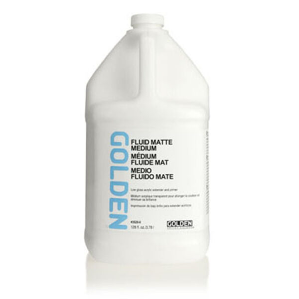 Golden Fluid Matte Medium - 3.7L (128 OZ)