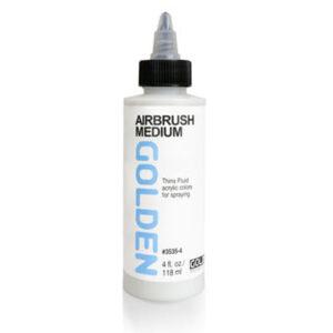 Golden Airbrush Medium - 118 ml (4 OZ)