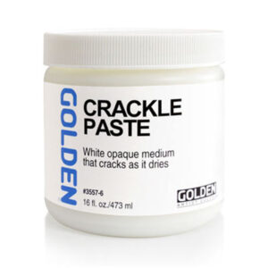 Golden Crackle Paste - 473 ml (16 OZ)