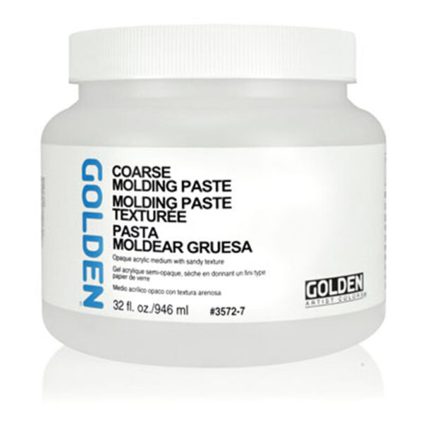 Golden Coarse Molding Paste - 946 ml (32 OZ)