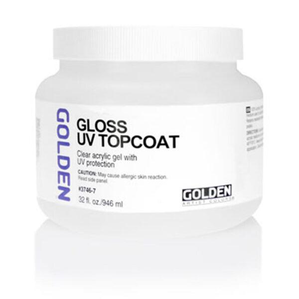 Golden Gel Topcoat w/UVLS (Gloss) - 946 ml (32 OZ)