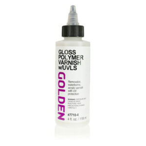 Golden Polymer Varnish w/UVLS - Gloss 118 ml (4 OZ)