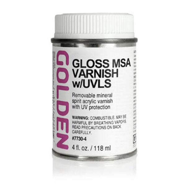 Golden MSA Varnish w/UVLS