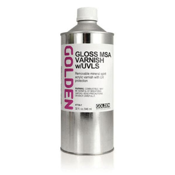Golden MSA Varnish w/UVLS - Gloss 946 ml (32 OZ)