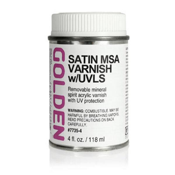 Golden MSA Varnish w/UVLS - Satin 118 ml (4 OZ)
