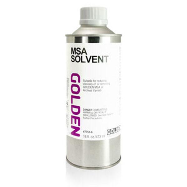 Golden MSA Solvent - 473 ml (16 OZ)