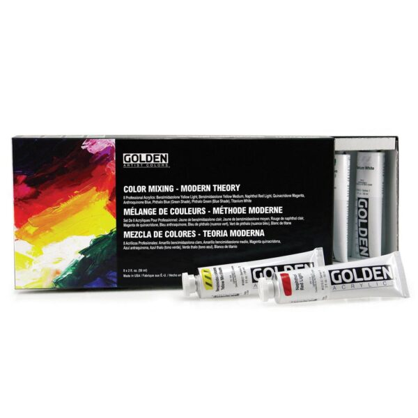 Golden Color Mixing Modern Theory 8 x 59ml (2 OZ)