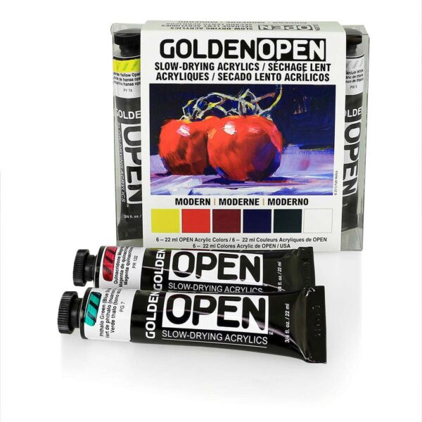 Golden Open Modern Set 6 x 22ml Beauty