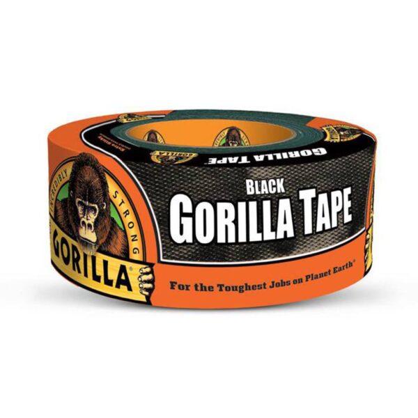 Gorilla Tape Black 12 Yards