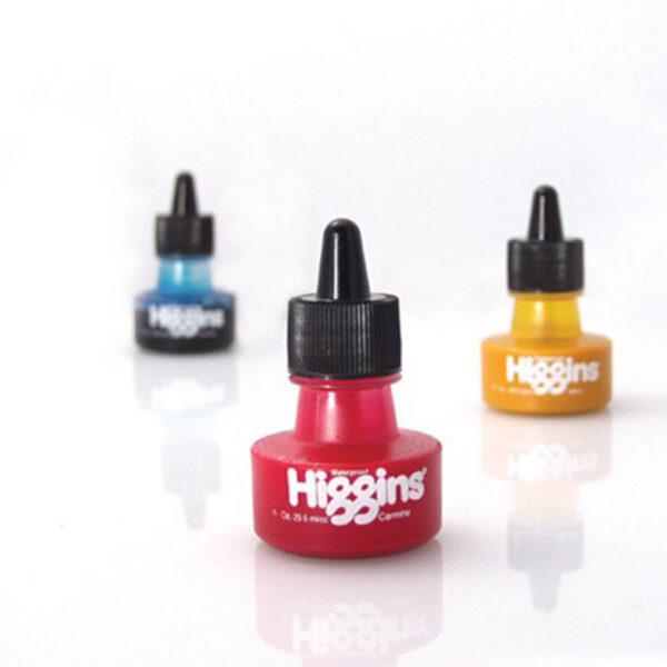 Higgins Pigmented Based Inks