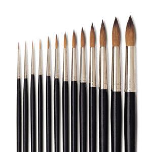 Isabey Kolinsky Sable Watercolor Brushes