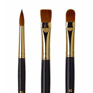 Isabey Pure Kolinsky Sable Brushes