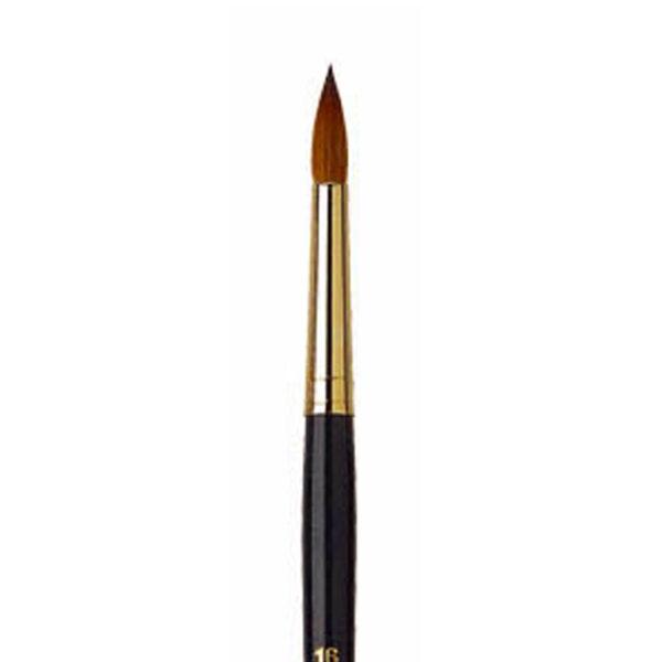 Isabey Pure Kolinsky Sable Brushes - Round Sz 14