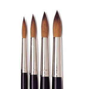 Isabey Red Sable Brushes