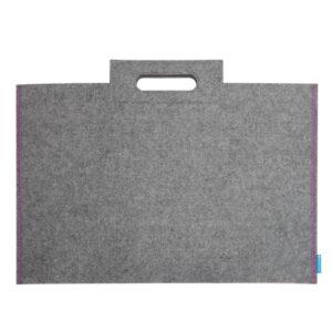 Itoya Midtown Portfolio Bags Gray 22 x 31in