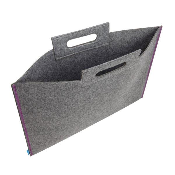 Itoya ProFolio Midtown Bag Gray Open