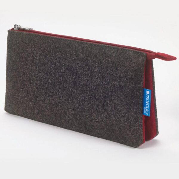 Itoya Midtown Pouch Charcoal 5 x 9in